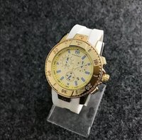 Wholesale pin french - French Luxury brand high quality new style TechnoMarine Marine style version Women's apparel silicone watches calendar work+Ordinary BOX