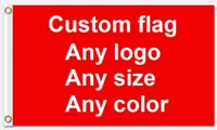 Wholesale Fly Banners - Custom Flag Flying Banner Printing Any Size company advertisement flags and banners With two metal grommets Polyester Fabric Prints
