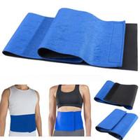 Wholesale Belly Belt For Men - New Adjustable Free Size Trimmer Sauna Belt Slimming Belt Burner Belly Fitness Body Sculpting & Slimming Shaper For Men Women