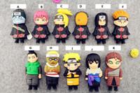 power bank ladegerät karikatur großhandel-Kreative Karikaturmachtbank Naruto Uzumaki-Pers5onlichkeit Mini, das tragbares Ladegerät des Schatzes bewegliches Energienbank 4400mah auflädt