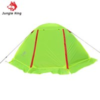 Wholesale game fishing skirts - Wholesale- Ultra-light Nylon Breathable Two Persons Couple Camping hiking fishing Tent Aluminum Rod With Snow Skirt Waterproof Beach Tent