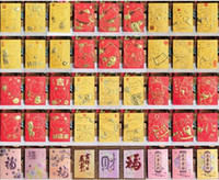 Wholesale Chinese Wedding Red Envelopes - Lucky Cat Treasurer Chinese New Year Birthday Wedding Housewarming Red Envelope