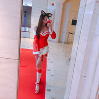 Hot Game LOL The Nine-Tailed Fox Ahri Cosplay Costume set