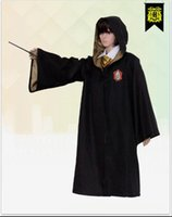 Harry Potter Cloak Robe Cape Grifondoro Costume Cosplay Per Bambini Adulto Mantello Abito Cape Halloween Regalo all'ingrosso