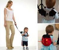 Wholesale Toddler Harness Bat - 2015 Cartoon Anti lost baby bag coccinella septempunctata bag bat bag lovely baby walker bag with Kid Toddler Safety Harness Strap V15042406