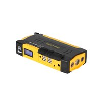 аккумулятор зарядное устройство стартера оптовых-69800mah многофункциональный 12 в автомобиль прыжок стартер 4USB питания Банк компас SOS огни 600A пик автомобильное зарядное устройство