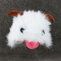 Hot Sell Cute LOL Poro Plush Stuffed Toy Figure Doll lol Cosplay para Gamer Gift Collectible para Crianças Kid Toys 20CM EMS