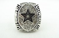 Wholesale Bowls Crystals - High Qualiity 1992 Dallas Cowboys Super Bowl championship ring Size 11 solid replica