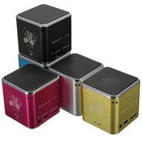 Wholesale Digital Sound Box Speaker - MD07U USB Micro Mini Portable FM TF Card Sound Music Stereo Box Player Digital Speaker Amplifier Reader for Mobile Phone