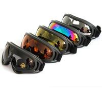 marcas de óculos militares venda por atacado-Marca uv400 proteção uv esportes ao ar livre snowboard skate óculos de segurança eyewear revestimento óculos de sol lente militar óculos de presente