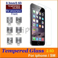 Wholesale Cheap Iphone Glass Screens - For iphone 7 Plus i7 Tempered Glass For iphone 7 iphone 6S Screen Protector 0.3mm Explosion Proof Film For iphone 6S plus S6 Note 5 cheap
