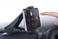 Wholesale Mount Holder Cradle Stand - Car Mount Cradle Dashboard Phone Holder For iPhone 8 Adjustable HUD Simulating Design Car Stand Mount For Samsung S8 with Retail Box