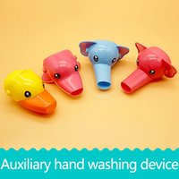 Wholesale Sink Faucet Pink - Children guide sink, faucet extension, hand washing aid