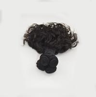 mejor pelo humano rizo brasileño al por mayor-Best Cheap 100g Por Lot Brasileña Humana Tía Funmi Paquetes de tejido para el cabello rizos tejido para la venta de G-EASY Productos para el cabello