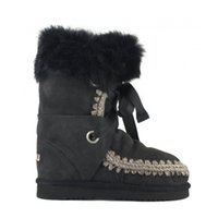 Wholesale Sewing Buckles - 2017 New Mou Warm Winter Snow Boots Genuine Sheepskin Leather Comfortable Women Boots Mon Brand 100% Fur Nature Leather Wool of Sheep Boots