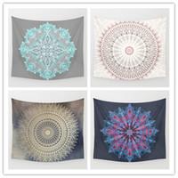 ingrosso decorazioni in camera scintillante-Glittering Mandala Tapestry Background Yoga Home Cloth Beach Towel Decorazione soggiorno Decorazione murale ECO Friendly