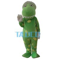 Wholesale Dorothy Dinosaur Mascot Costume - Wholesale-New Wiggles Dorothy The Dinosaur Adult Mascot Costume