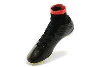 Wholesale Soccer Cleats Ronaldo Carbon Fiber - Mercurial superfly FG mens soccer Boots cleats shoes sock-like feel CR7 Ronaldo football shoes Carbon fiber bottom size 39-45