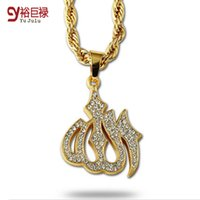 Wholesale Vintage Hip Hop Jewelry - Hip Hop Gold Necklace Men Women Jewelry Figaro Chain Vintage Platinum 18K Real Gold Plated Big Lion Head Pendant Necklace