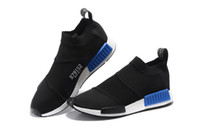 2016 nova NMD Mid City Sock S79150 S79152 alta ajudar homens e mulheres pipoca sapatos, Sports Casual Running Shoes, Men Athletic Shoe Sneaker Outdoor