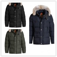 Wholesale Cheap Branded Coats - New Arrival Hot Sale Top Copy Brand Carmel Down Jacket Men's Winter Parka With Hoodie Fur Arctic Coat Cheap Outlet Factory