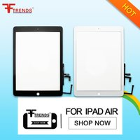 Wholesale Display Lcd Repair Tablet - High Quality Tablet LCD Display Touch Screen For ipad Air iPad 5 New Tablet LCD Repair Parts Digitizer Full Assembly