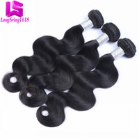 Wholesale Body Wave Brazillian Remy Hair - Brazilian Virgin Human Hair Body Wave Unprocessed Brazillian Peruvian Indian Malaysian Cambodian Body Wave Remy Human Hair Extensions