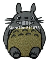 Wholesale Dropship Anime - MY NEIGHBOR TOTORO AppliqueJapanese ANIME TV movie fancy Embroidered sew on iron on patch applique dropship party favor