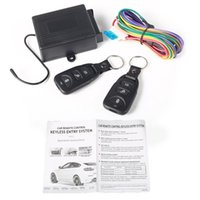 Wholesale Wholesale Car Remote Starter - Universal Car Central Door Locking Keyless Entry System + 2 Remote Control M00031