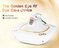 máquina de rf portátil para la venta al por mayor-Venta caliente Golden Eyes mini máquina rf portátil para salón de belleza y uso doméstico