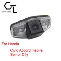 Wholesale Honda Spirior - For Honda Civic 2001 ~ 2014 Accord Inspire Spirior City Wireless Car Auto Reverse Backup CCD HD Rear View Camera Parking Assistance