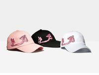 snapbacks girls shipping оптовых-Бесплатный корабль 3 цвета хлопок Оптовая шляпа для женщины snapbacks Розовый кролик бейсболка мода snapbacks для девочки