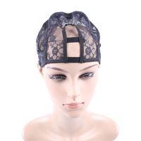 Wholesale Net Wigs - Black Machine Made wig Caps Hair Weft making cap, weaving caps weave Net Supplier Size Medium Lace Cap
