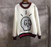 Wholesale loose skull sweater - vetements pigalle stu Couples dress new tide all-match personalized version of sweater