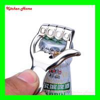 Wholesale fish bottle opener keychain resale online - Fashion in Keychain And Opener Creative Fish Palm Keychain Beer Opener Keyring Can Openers Alloy Shark Shape Bottle Opener