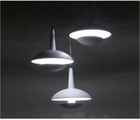 Wholesale Morden Living - 2016 Creative morden simple conciseness LED pendant light AC85-265V metro mushroom shape LED restaurant pendant light fixture