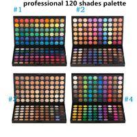 Wholesale Shimmer Eye Shadows - Professional Wedding Makeup 120 colors Eye Shadow Nake Makeup Eyeshadow Palette 120 Color Maquiagem Set Matte Shimmer Nude Eyeshadow Powder