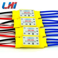 Wholesale Wholesale Brushless Rc - peed controller 2017 Servo Lipo Fpv Hot Lhi 4 Pcs Brushless 30a Speed Controller Blheli_s For Helicopter Multicopter Rc Quadrocopter Quad...