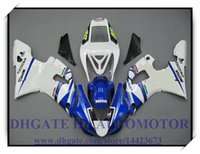 СИСТЕМА ВПРЫСКА BRAND NEW обтекателя KIT 100% FIT FOR YAMAHA YZF R1 YZF1000 1998-1999 YZFR1 1998 1999 YZF R1 98 99 # SO296 белый синий