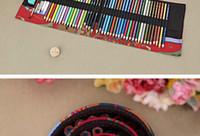 bolsa de rolo de caneta venda por atacado-2016 vendas quentes chinês estilo nação lápis saco sailclull rolos forma plantas impressão pen cortina preço de fábrica