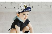 6-18M Baby Boys Embroiery Letters NY caps Kids Summer Бейсбольные шапки Kids Boy Sun hat toddler boys hat baby Hat Шляпы