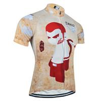 Shirts Anti Pilling Men BXIO Brand Cycling Clothing Only Jersey Men Cartoon  Pattern Bike Jersey Breathable 517bcec7da143