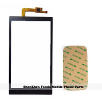 Wholesale micromax screen glass - Wholesale- New Mobile Phone Touch Screen For Micromax AQ5001 Canvas Juice 2 Touchscreen Panel Digitizer Sensor Front Glass Lens + Tape