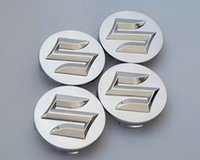 Wholesale Center Hub Cap Cover - 4pcs lot Car Styling 54mm ABS Suzuki Car Badge Wheel Center Hub Cap Wheel Emblem Badge Covers for SWIFT Sport SX4 Alto