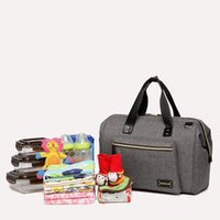 Wholesale Bebe Diaper Bags - High Quality Mother Diaper Bag For Mom Messenger Tote Hobos Multifunction Waterproof Maternity Bag For Bebe Baby Nappy Bag