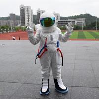 trajes espaciales trajes al por mayor-2017 venta caliente! Traje de alta calidad traje de mascota traje de mascota Astronauta traje con mochila con el guante LOGO, zapatos