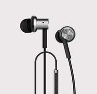 birim uzaktan toptan satış-E-MI Yüksek Kalite Xiaomi Hibrid Kulaklık 2 Birimleri Kulak HiFi Kulaklık Xiaomi Mi 1 daha Piston Kulaklıklar ile Mic Uzaktan