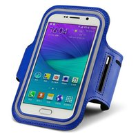 Wholesale G Arms - Wholesale-Mobile Phone Armband Gym Running Sport Arm Band Cover Protective Phone Bags FOR LG G Pro 2 Vista2 Stylo Top Quality 5.5 Inch L#