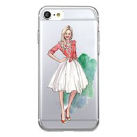 Wholesale smile phone cases - Shaka Laka Smiling face Phone Shell Clear fashion beauty Case For iPhone 6 6S 5.0in 6Plus 7 7plus 8 8s plus Soft TPU silicone back Cover