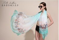 Fashion square shawl pattern - 2016 New Arrival Mulberry Silk X110 Square Silk Scarf Women Pattern Silk Scarf For Spring And Autumn